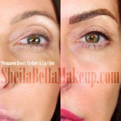 tattoo eyebrows aberdeen eyelash enhancement before and after permanant make up