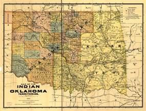 indian territory map 1894 establishments in oklahoma territory