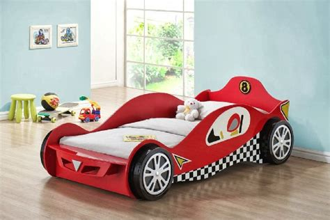 creative race car beds  toddlers homesfeed