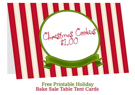 sle tent card template bake sale table tent cards bake sale flyers free flyer