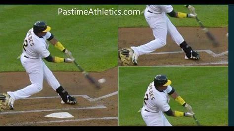 baseball swing analysis yoenis cespedes baseball swing analysis slow motion
