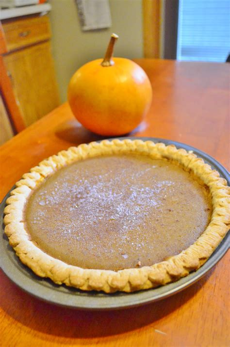 homemade flavorful pumpkin pie from scratch recipe