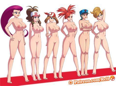 Pokemon Girls In Rocket Nude Fenhentai