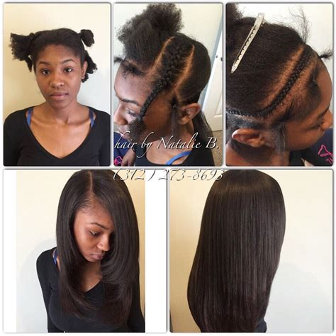 looking for sew in weave hairdressers for black women in or near jackson ms for rates text me at 312 273 8693 gave her