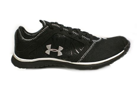 womens black running shoes armour womens go running shoe black