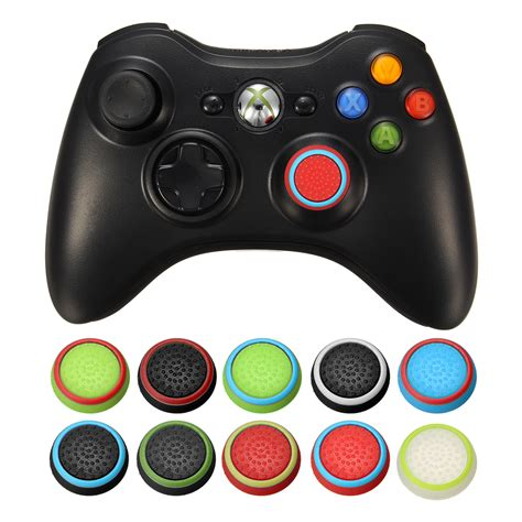 Controller Stik Stick Wireless Ps 3 Playstation 3 Murah rubber silicone thumbstick joystick cap thumb stick cover grips for ps4 for ps3 for xboxone for