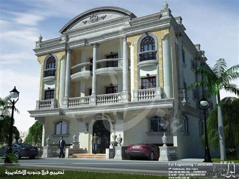 Floor Plans For 1 Story Homes واجهات فلل وعمارات من ايوان مصر 187 Arab Arch