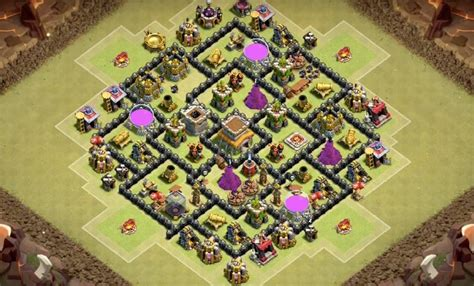layout design th8 9 epic th8 war base layouts farming base layouts for 2016