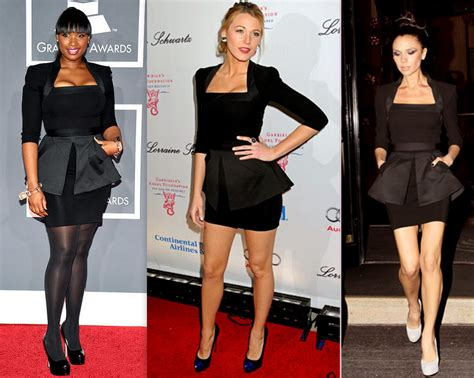Who Wore Better Beckham Or Kate Hudson by Hudson Vs Lively Vs Beckham In