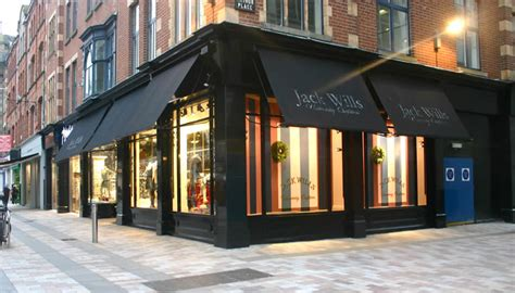 shop awnings for major retail chains across the
