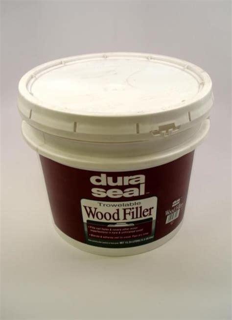 dura seal white oak trowelable wood filler 3 5 gallon