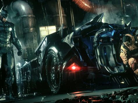 batman arkham knight beth car hd wallpaper