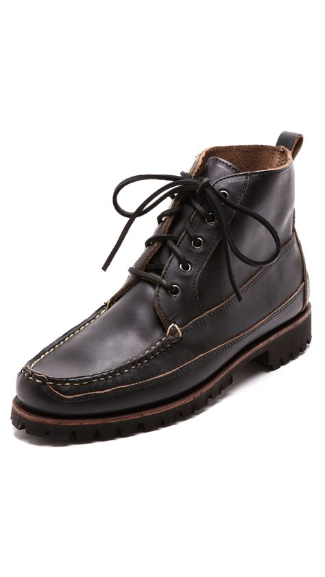 eastland work boots eastland kennebunk usa boots in black for lyst