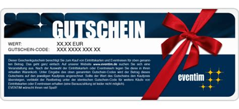 Tickets Online Drucken Eventim by Eventim Gutschein 100
