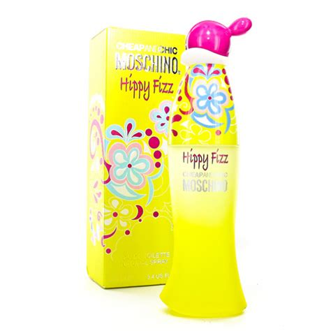 Original Parfum Moschino Cheap And Chic Hippy Fizz 100ml Edt Cheap And Chic Hippy Fizz Eau De Toilette De Moschino