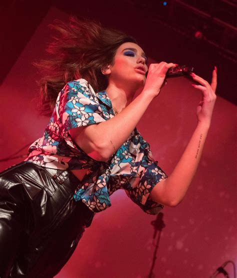 Performs At House Of Blues by Dua Lipa Performs At The House Of Blues In San Diego