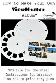 Free Download Blank Viewmaster Reel Png From Clare At Messy Desk Print Me For Free View Master Reel Template