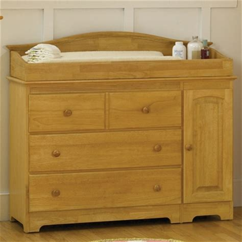 Baby Changing Table Dresser Combo Atlantic Furniture Combo Changing Table 3 Drawer Dresser In Maple Free Shipping