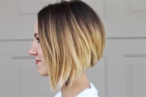 Very Short Bobs With Ombre | asymmetrical ombre bob hair update one little momma