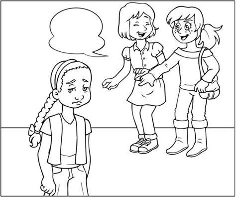 imagenes para colorear bullying dibujos para dibujar el bullying imagui