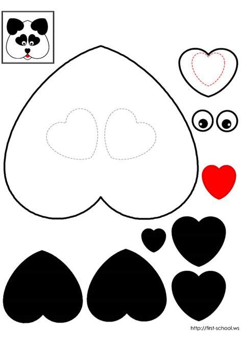 paper panda templates 2008 june