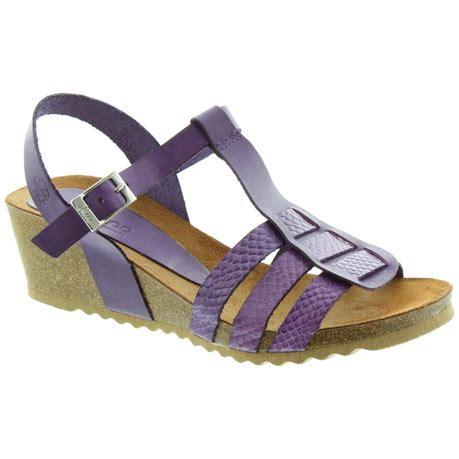Sandal Wedges Wanita Mr92 031 yokono cadiz 031 wedge sandals in purple
