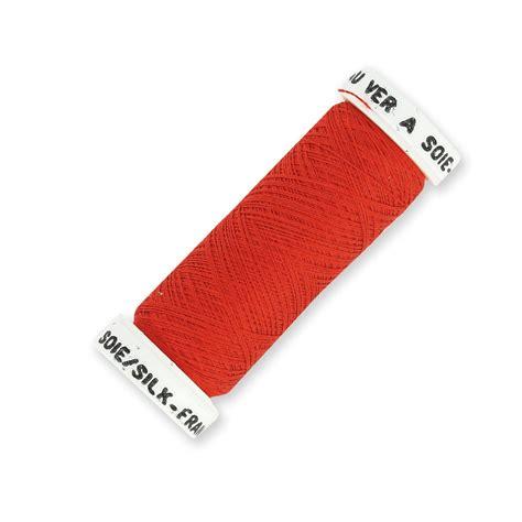 Lu Per Meter filo da ricamo per broderie lun 233 ville seta rosso 650