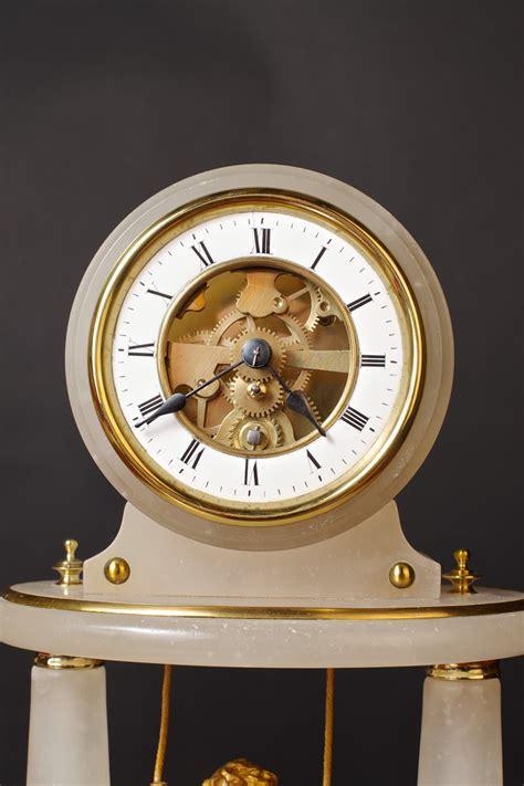 swinging clock french swinging cherub clock olde time antique clocks