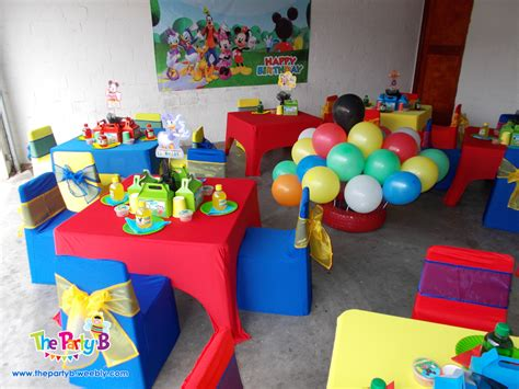 Birthday Decoration Ideas For Kids At Home by Mickey Mouse Clubhouse Themed Party Cape Town The Party