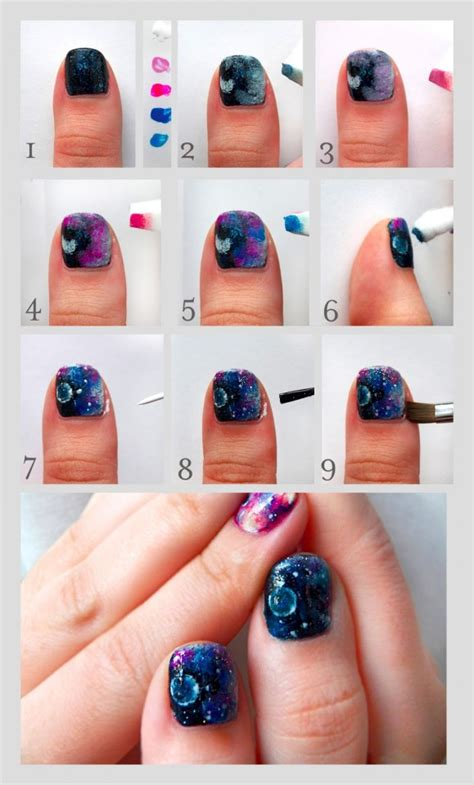 easy nail art tutorial step by step 16 step by step nail tutorials