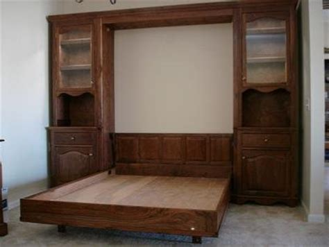 murphy bed wall units walnut queen murphy bed and wall unit by tulsawoodsmith