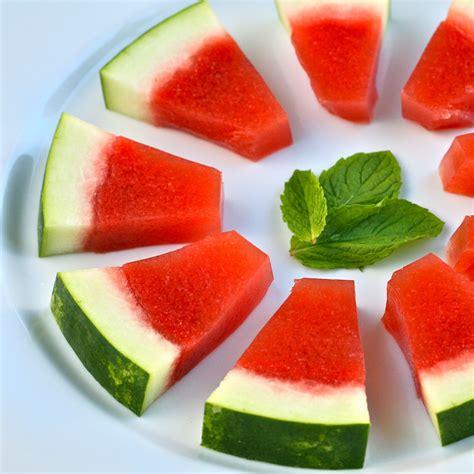 j is for jello shots watermelon mint