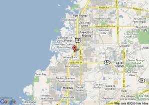 map of ramada inn bayside new port richey