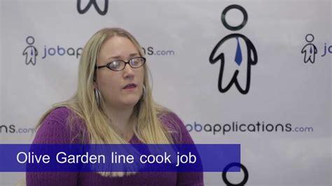 olive garden line cook