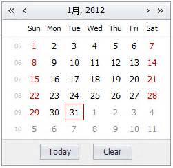 Calendar Api Docs Calendar Jquery Miniui 3 0 Documentation