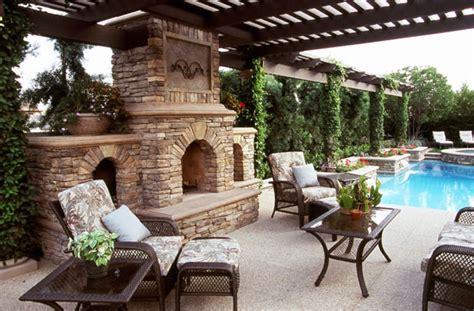 Backyard Pool Fireplace Designs Debate Outdoor Fireplace Or Pit Garden Club