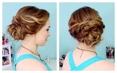 hairstyles for curly medium hair step by step prom hairstyles updos easy hairstyles by unixcode