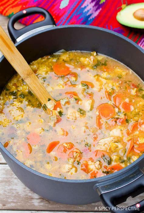 Http Www Aspicyperspective Southwest Chicken Detox Soup 2 by Best 25 Chicken Tortilla Soup Ideas On