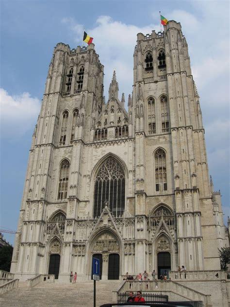 bruxelles turisti per caso bruxelles cattedrale viaggi vacanze e turismo turisti