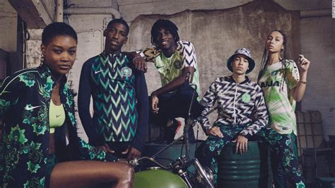 nigeria world cup kit sells out in minutes as fakes flood