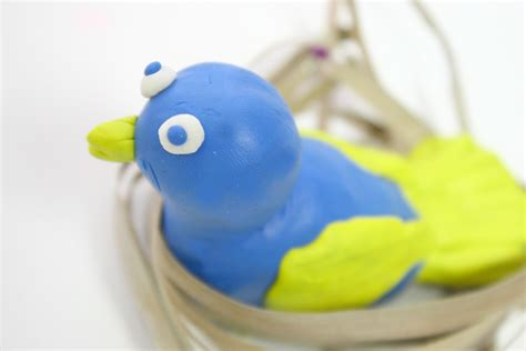 how to make a boat out of clay how to make a sitting bird out of clay 9 steps with