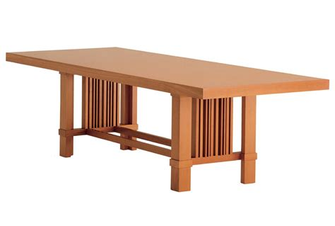 frank lloyd wright table husser table by frank lloyd wright for cassina