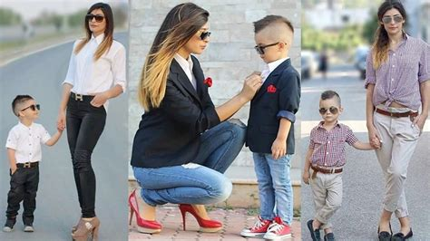 mother and son matching clothes mom son matching fashion dresses youtube