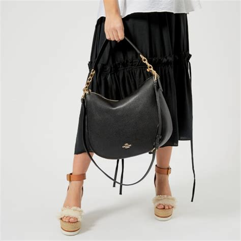 Coach Bag Review by Coach S Chelsea 32 Hobo Bag Black