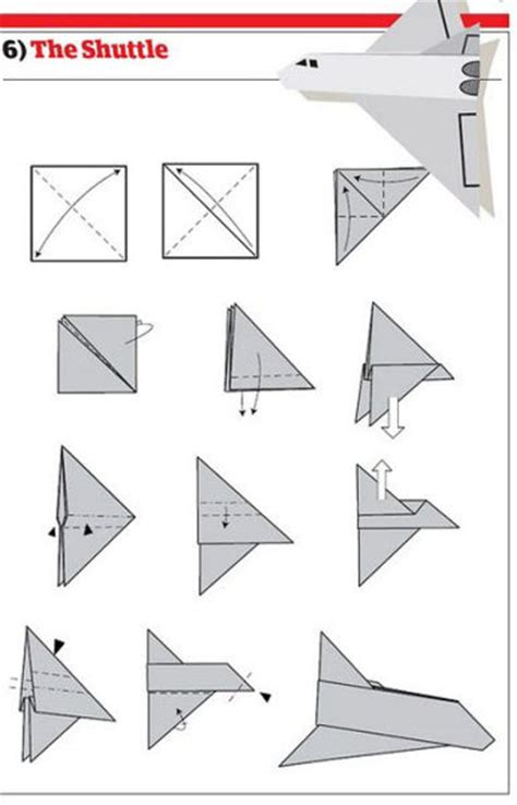 Directions To Make Paper Airplanes - youloo paper airplanes