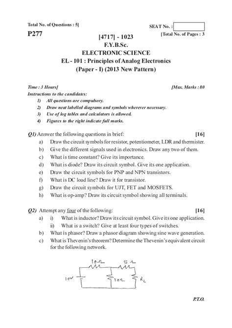 Nimi Pattern Question Paper | f y b sc 2013 pattern old question papers dr kshirsagar