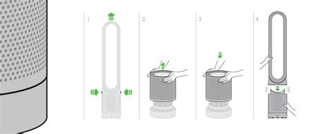 how to clean dyson fan dyson cool purifier dyson com au