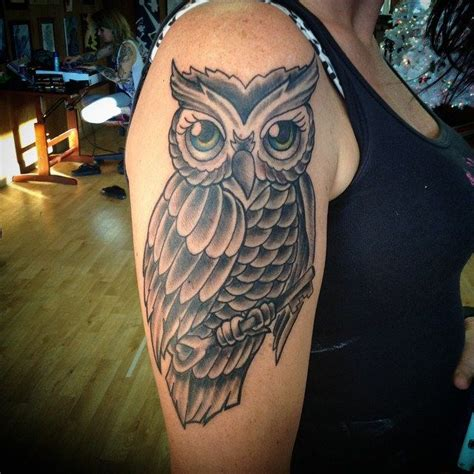 lotus tattoo in lansdale owl tattoo made today traditional owls tattoos
