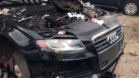Audi A4 B8 Lwechsel by Audi A4 2 0 Quattro Starter Change Youtube