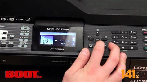 reset brother counter purge mfc j6510dw ink absorber full brother mfc j6510dw multifunkcionālā printera videoapskats